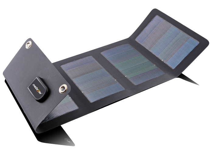 faltbare solarmodule aurora im shop ideal f r outdoor. Black Bedroom Furniture Sets. Home Design Ideas