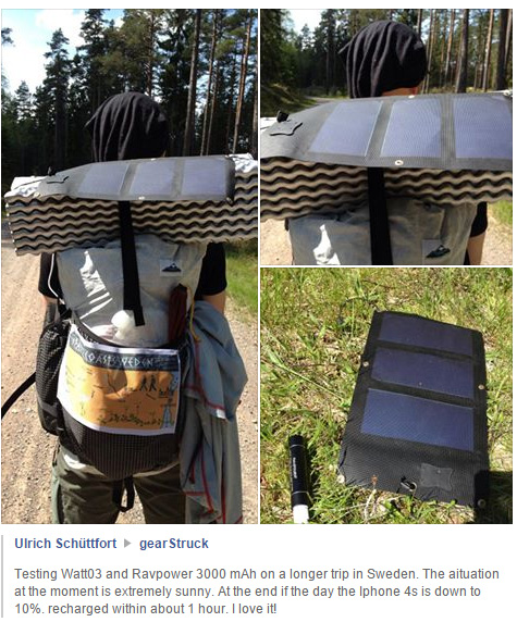 Ein Kunde berichtet in einer Facebook-Gruppe über das Watt 03