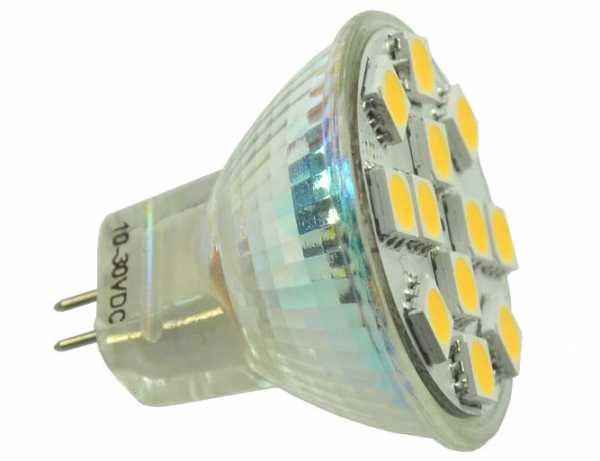 Green Power LED MR11 Spot warmweiß 15 SMD 170 Lumen dimmbar