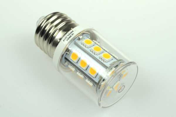 E27 LED (10-30V DC / 10-18V AC) dimmbar, warmweiß