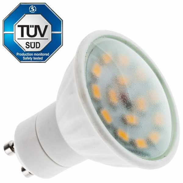 LED Lampe GU10, 380 Lumen, warmweiss