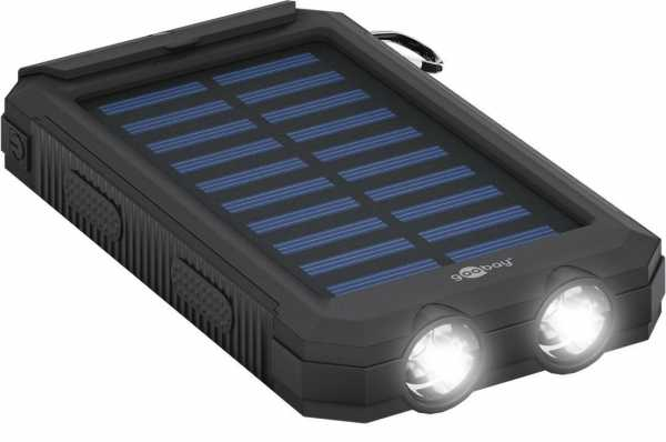 Outdoor-Powerbank mit LED-Lampe