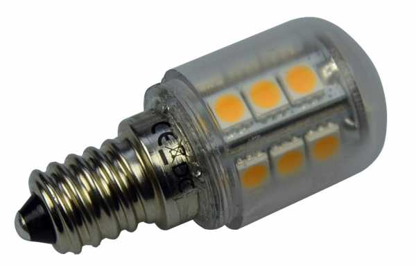 E14 LED 12V 24V (10-30 V AC / DC) dimmbar, warmweiß