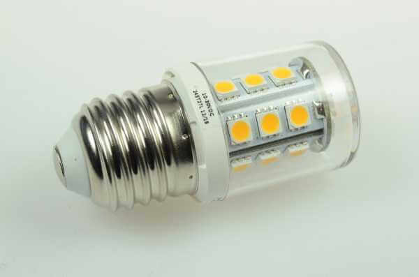 E27 LED 24V (13,5-28V DC / 24V AC) dimmbar, warmweiß